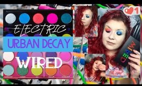 Urban Decay Wired not a new Electric a sister!  Swatches and first thoughts GRWM