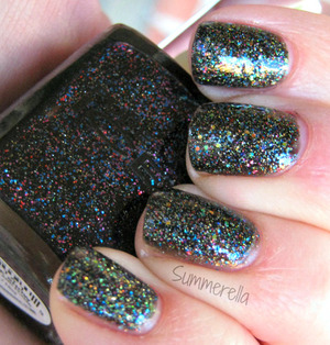 Pure Ice Private Show and Nina Ultra Pro Holographic topcoat http://summerella31.blogspot.com/2013/03/private-show.html#