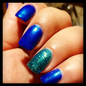 Blue by you and nail junkie.