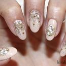 Champagne Nails