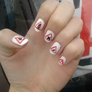 Sunday Nail Battle - Triangle nails