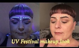 GRWM : UV festival make up   Cake Face Addict