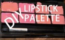 ✿ DIY LIPSTICK PALETTE! How to Custom Lipstick Color ✿