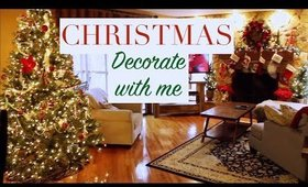 DECORATE WITH ME FOR CHRISTMAS!!