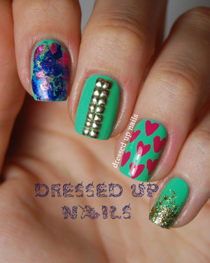 http://www.dressedupnails.com/2013/05/skittle-nail-art-with-essie-first-timer.html