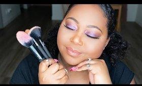 Spring Violets Makeup Tutorial Ft. MODA Pro Full Face Wrap Kit