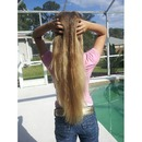 Semi-straight hair