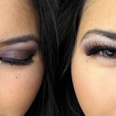 Hazel Plum Smokey Eye