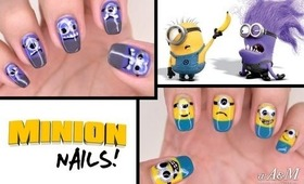 Despicable Me 2 Minion Nails [HD]