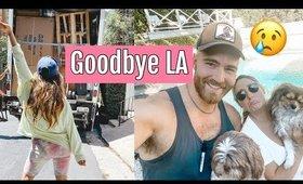 WE LEFT LA//EMOTIONAL MOVING DAY
