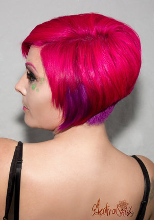 Hair styling/colour/MUA @JohnNorton (me) Photos @Harrison Reilly Model @Kimberley Smith-Pearce