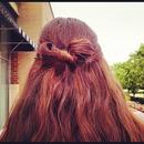 Bow hairtstyle