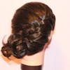 Full side french braid