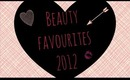 Beauty Favourites of 2012!