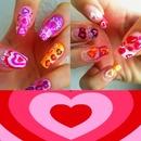V'day nails