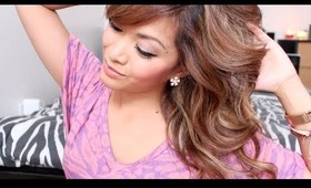 Tutorial: Wavy & Poofy for Medium Length Hair
