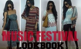 Summer Bohemian Festival Music Lookbook 2015 l CendrityssTV