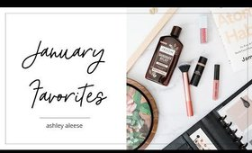 January Favorites: Habits, Planner, Beauty! | Ashley Aleese