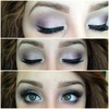 Romantic Lilac Purple Eye Look