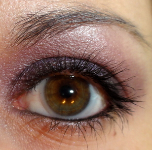 Dark Purple Makeup of the Day