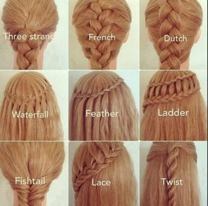 Some super easy hairstyles for school. | Beautylish