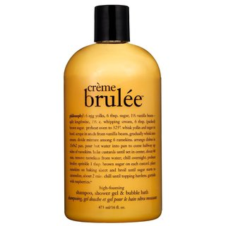 Philosophy Crème Brulée. Shampoo, Shower Gel & Bubble Bath