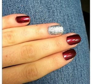 Ring finger glitter