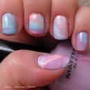 Pastel Water Marbling