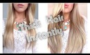 Thick Hair Instantly ~ Foxy Locks Superior 230g Extensions ~ How To Clip In