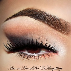 instagram: @auroramakeup FALSE LASHES: NOIR FAIRY IN BLACK BY HOUSEOFLASHES =)