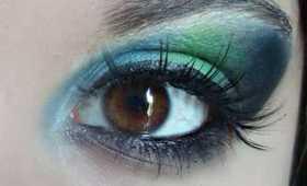 Album Inspired Makeup 1: Pink Floyd Dark Side of the Moon