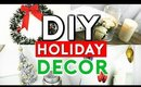 DIY HOLIDAY ROOM DECOR! CHEAP & SIMPLE FOR $1