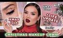 CHRISTMAS MAKEUP - LIFE UPDATE - GRWM | Maryam Maquillage
