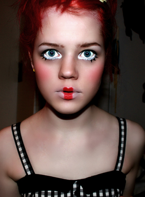 Another picture of the doll look! I had so much fun with it!