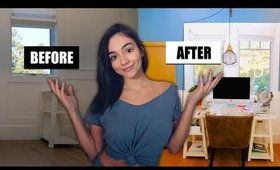 EXTREME ROOM MAKEOVER (aka me being a lil stressed)