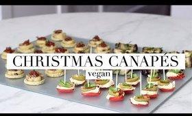 Easy Christmas Canapés (Vegan) AD | JessBeautician