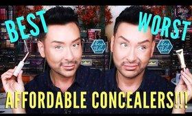 Best & Worst Affordable Concealer For Mature Dry Under Eyes | mathias4makeup