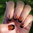 Chevron Tip Manicure