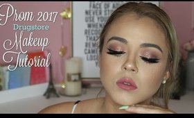 #Prom2017 #Drugstore #MakeupTutorial | Beauty by Pinky