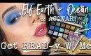 ELF EARTH + OCEAN PALETTE + ACOWAR | Get EAD-y With Me