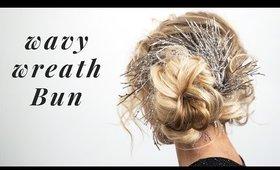 1 minute Wavy Wreath Bun
