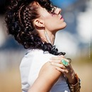 Curly Mohawk Braid