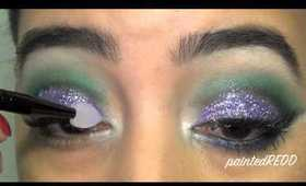 New Year's Colorful Sparkle Make Up Tutorial