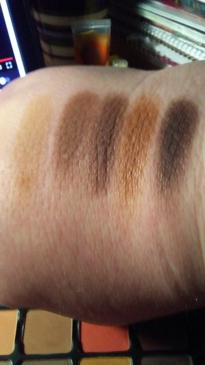 2nd row swatches