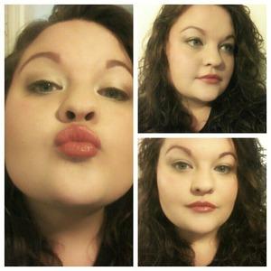 Sassy Red Lip...natural eye