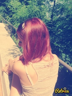 My new red hair!!!