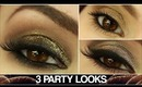 3 PARTY LOOKS! ✧ Light, Medium & Dark!