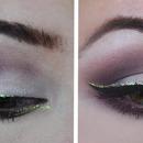 Holiday Gold Makeup