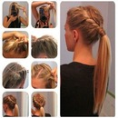 cute ponytail :)