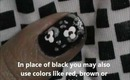 Very Short Nails Art tutorial with Nail Polish designs Flower - nail design for beginners!